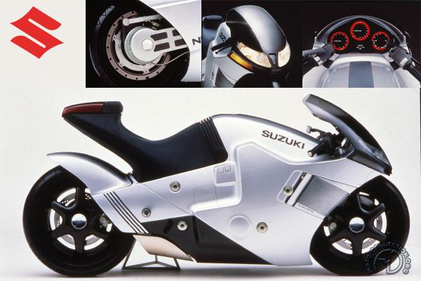 Suzuki Nuda 2-wheel-drive motocyclette motorrad motorcycle vintage classic classique scooter roller moto scooter