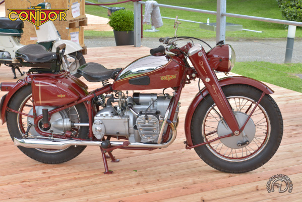 Condor Rallye & TNS motocyclette motorrad motorcycle vintage classic classique scooter roller moto scooter