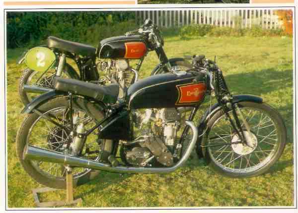 Excelsior Manxman Moteur magnesium motocyclette motorrad motorcycle vintage classic classique scooter roller moto scooter
