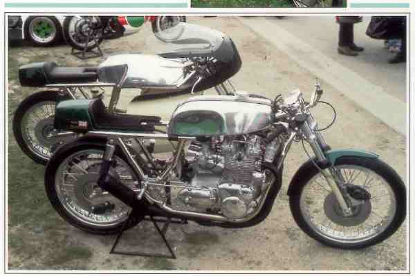 Triumph Rickman Métisse Trident motocyclette motorrad motorcycle vintage classic classique scooter roller moto scooter