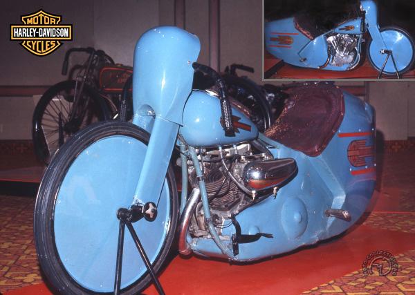 Harley Davidson Type 61 EL des Records motocyclette motorrad motorcycle vintage classic classique scooter roller moto scooter