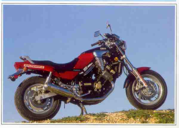 Yamaha FZX Fazer motocyclette motorrad motorcycle vintage classic classique scooter roller moto scooter