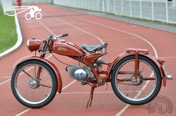 Riedel Imme R motocyclette motorrad motorcycle vintage classic classique scooter roller moto scooter