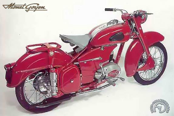 Monet Goyon S 6 VR motocyclette motorrad motorcycle vintage classic classique scooter roller moto scooter