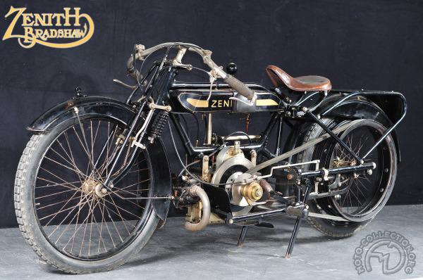 Zenith Gradua model A motocyclette motorrad motorcycle vintage classic classique scooter roller moto scooter