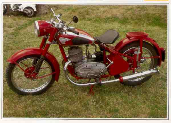 Ardie B 251 motocyclette motorrad motorcycle vintage classic classique scooter roller moto scooter