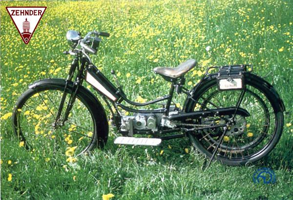 Zehnder  motocyclette motorrad motorcycle vintage classic classique scooter roller moto scooter