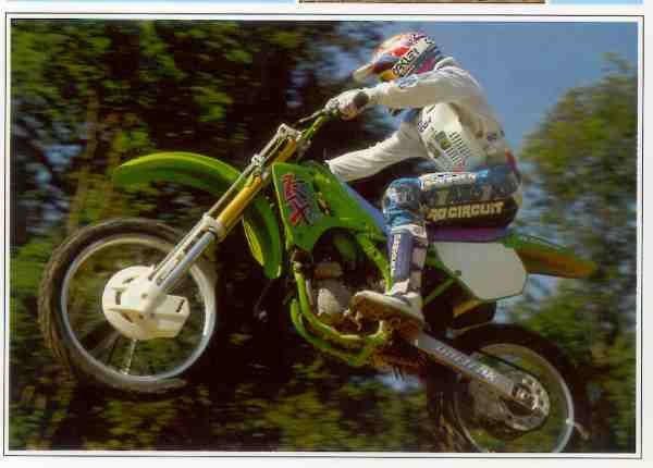 Kawasaki KX  motocyclette motorrad motorcycle vintage classic classique scooter roller moto scooter