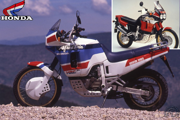 Honda XLV Africa Twin motocyclette motorrad motorcycle vintage classic classique scooter roller moto scooter