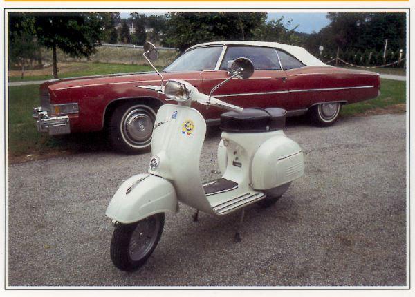 Vespa - Piaggio SS Super Sport motocyclette motorrad motorcycle vintage classic classique scooter roller moto scooter