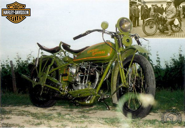 Collection Moto Harley Davidson 350 1928-