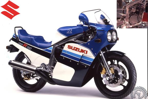 Suzuki GSX R Slingshot motocyclette motorrad motorcycle vintage classic classique scooter roller moto scooter