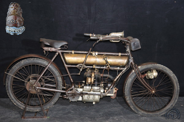 Rochet MG - 5 1/2 HP motocyclette motorrad motorcycle vintage classic classique scooter roller moto scooter