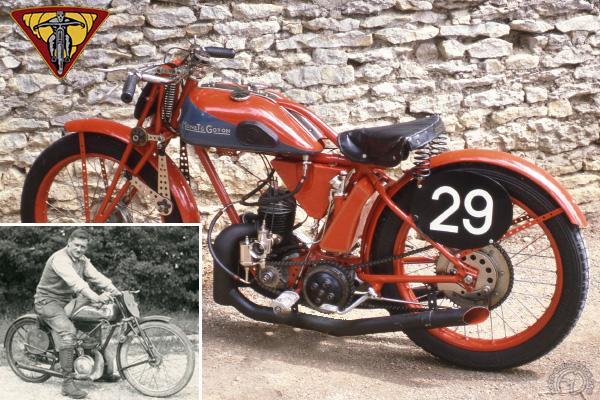 Monet Goyon Sourdot & replica motocyclette motorrad motorcycle vintage classic classique scooter roller moto scooter