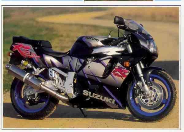 Suzuki GSX RR motocyclette motorrad motorcycle vintage classic classique scooter roller moto scooter