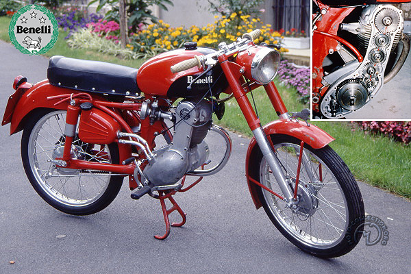 Benelli Leoncino 4 t motocyclette motorrad motorcycle vintage classic classique scooter roller moto scooter