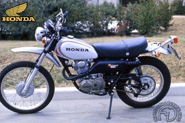 Honda XL S (Japon SL - S) motocyclette motorrad motorcycle vintage classic classique scooter roller moto scooter
