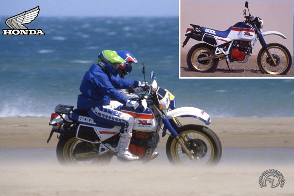 Honda XL M Paris Dakar motocyclette motorrad motorcycle vintage classic classique scooter roller moto scooter