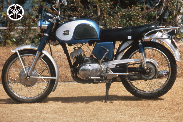 Yamaha YA-T 1 motocyclette motorrad motorcycle vintage classic classique scooter roller moto scooter