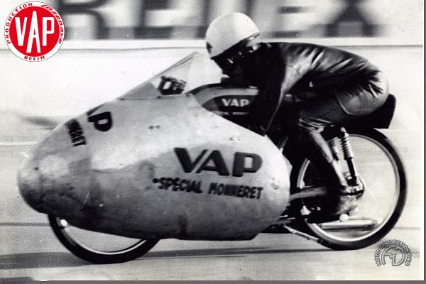 Vap Spécial Monneret des records  motocyclette motorrad motorcycle vintage classic classique scooter roller moto scooter