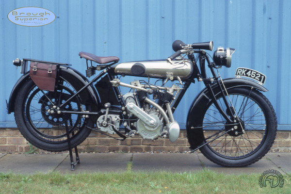 Brough Superior Mk II motocyclette motorrad motorcycle vintage classic classique scooter roller moto scooter