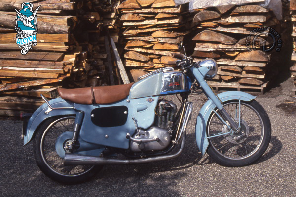 Collection Moto Alcyon  250 1954-