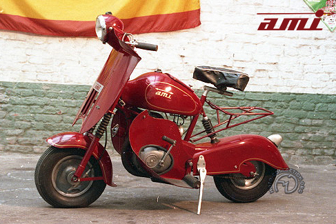 Ami Scooter motocyclette motorrad motorcycle vintage classic classique scooter roller moto scooter