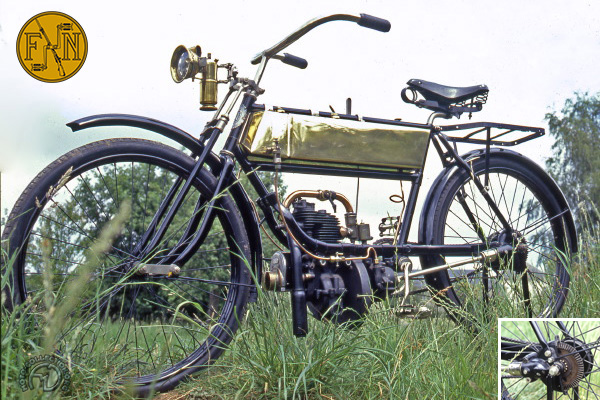 FN légère, 2 HP 1/4 motocyclette motorrad motorcycle vintage classic classique scooter roller moto scooter