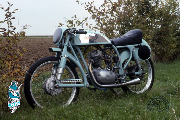 Alcyon  AMC- Bol d'Or 1954 motocyclette motorrad motorcycle vintage classic classique scooter roller moto scooter