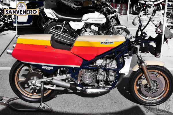 Sanvenero GP motocyclette motorrad motorcycle vintage classic classique scooter roller moto scooter