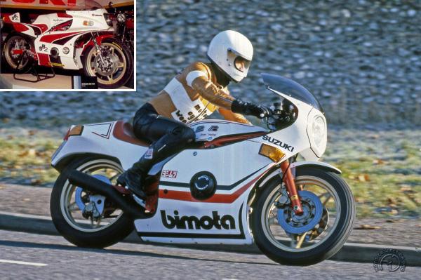 Bimota SB 2 prototype & série motocyclette motorrad motorcycle vintage classic classique scooter roller moto scooter