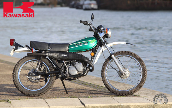 Kawasaki KS /KE trail motocyclette motorrad motorcycle vintage classic classique scooter roller moto scooter