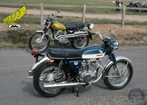 Honda CB K 1 à K 4 motocyclette motorrad motorcycle vintage classic classique scooter roller moto scooter