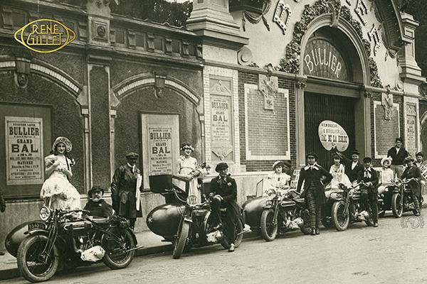 René Gillet 6 CV motocyclette motorrad motorcycle vintage classic classique scooter roller moto scooter