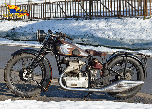 Royal Standard René Zürcher motocyclette motorrad motorcycle vintage classic classique scooter roller moto scooter
