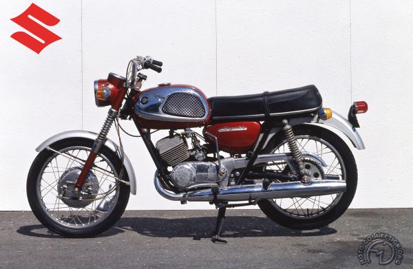 Suzuki T 20 motocyclette motorrad motorcycle vintage classic classique scooter roller moto scooter