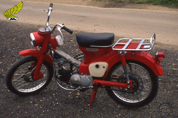 Honda CT 200 motocyclette motorrad motorcycle vintage classic classique scooter roller moto scooter