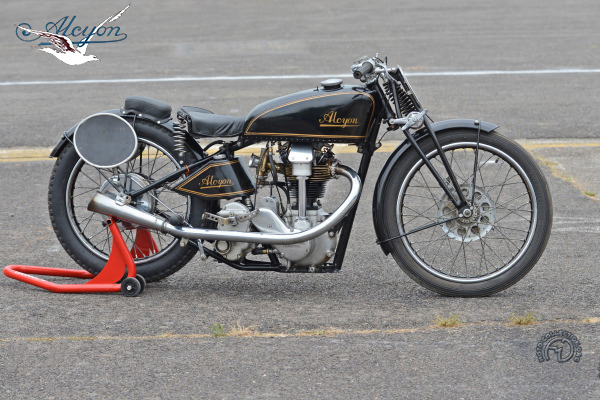 Collection Moto Alcyon  350 1935-1935