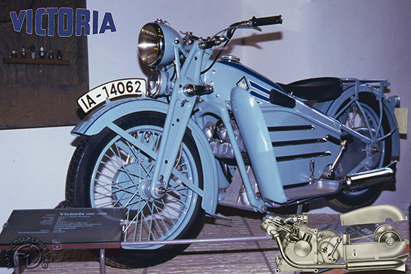 Victoria KR 9 Fahrmeister motocyclette motorrad motorcycle vintage classic classique scooter roller moto scooter