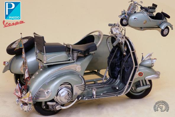 Vespa - Piaggio type 52  motocyclette motorrad motorcycle vintage classic classique scooter roller moto scooter