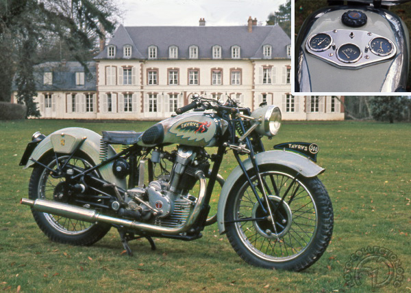 Collection Moto Taurus 500 1936-