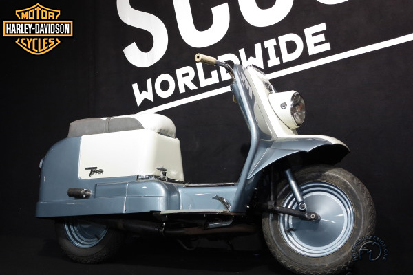 Harley Davidson Topper motocyclette motorrad motorcycle vintage classic classique scooter roller moto scooter