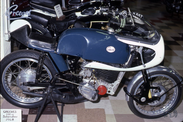Collection Moto Greeves 250 1968-