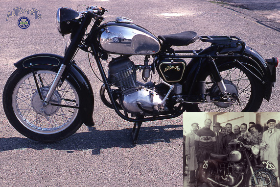 Collection Moto Automoto 250 1954-
