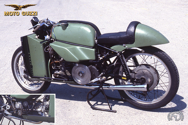 Moto Guzzi Course/ Carénage intégral motocyclette motorrad motorcycle vintage classic classique scooter roller moto scooter