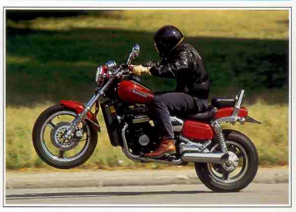 Kawasaki ZL Eliminator motocyclette motorrad motorcycle vintage classic classique scooter roller moto scooter