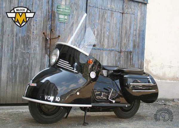 Maïco Maïcomobil motocyclette motorrad motorcycle vintage classic classique scooter roller moto scooter