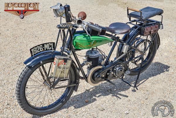 Motobécane - Motoconfort MC 1 F3 & F4 motocyclette motorrad motorcycle vintage classic classique scooter roller moto scooter