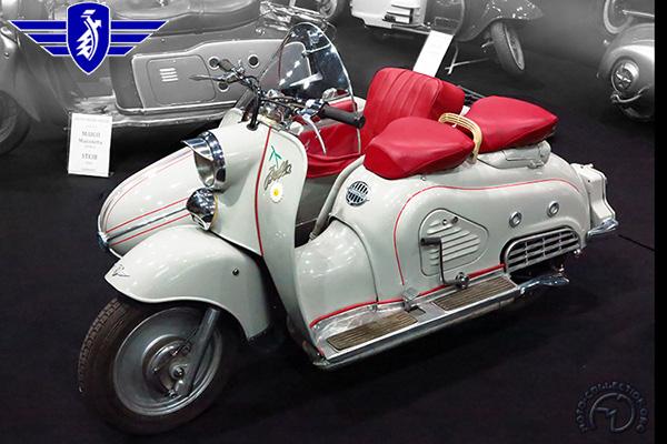 Zündapp Bella motocyclette motorrad motorcycle vintage classic classique scooter roller moto scooter