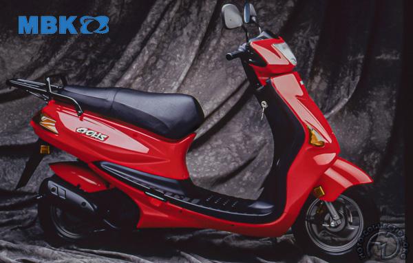 Yamaha MBK YE Zest (Evolis) motocyclette motorrad motorcycle vintage classic classique scooter roller moto scooter